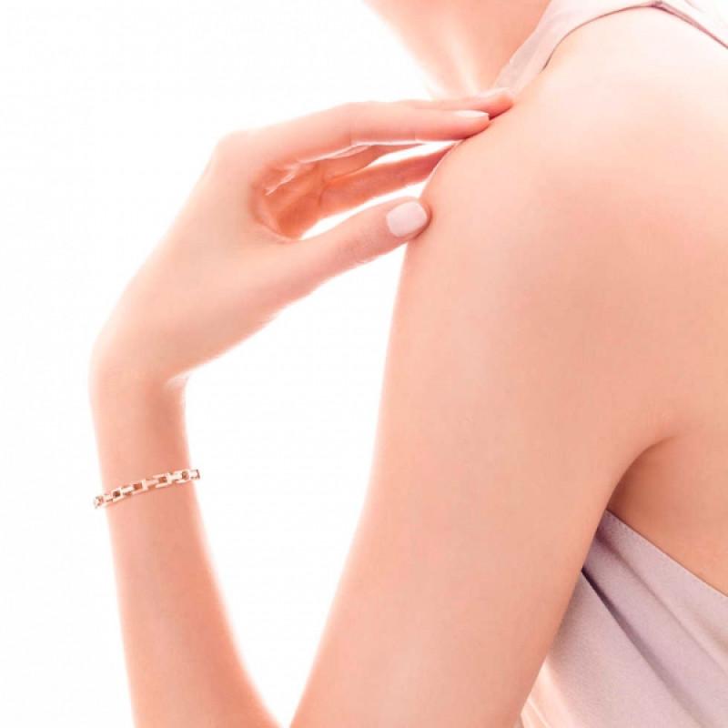 Браслет Tiffany T Chain, розовое золото (33278713)