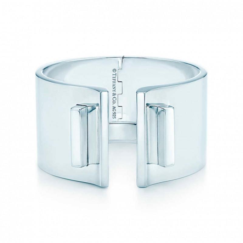 Браслет-кафф Tiffany T Bar, стерлинговое серебро (33278896)