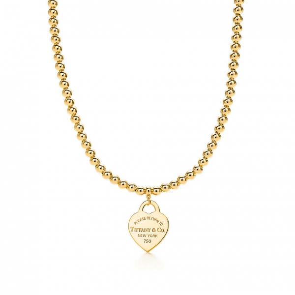 Ожерелье из бусин Return to Tiffany, желтое золото (24059219)