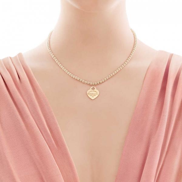 Подвеска-жетон Return to Tiffany, желтое золото (13308977)