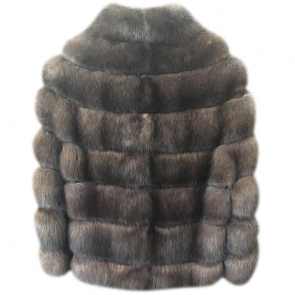 Шуба Fabrizio Ferrario Furs, мех соболя