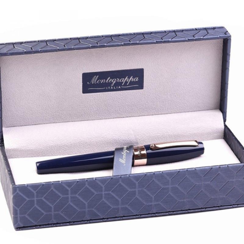 Перьевая ручка Montegrappa Fortuna, розовое золото, смола