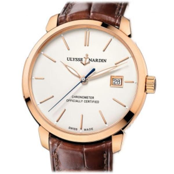 Ulysse Nardin watches Classico RG Eggshell dial