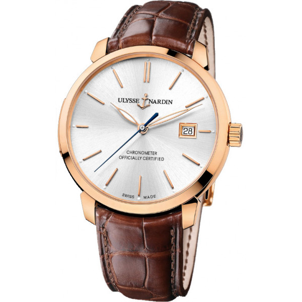 Ulysse Nardin watches Classico RG Silver Dial
