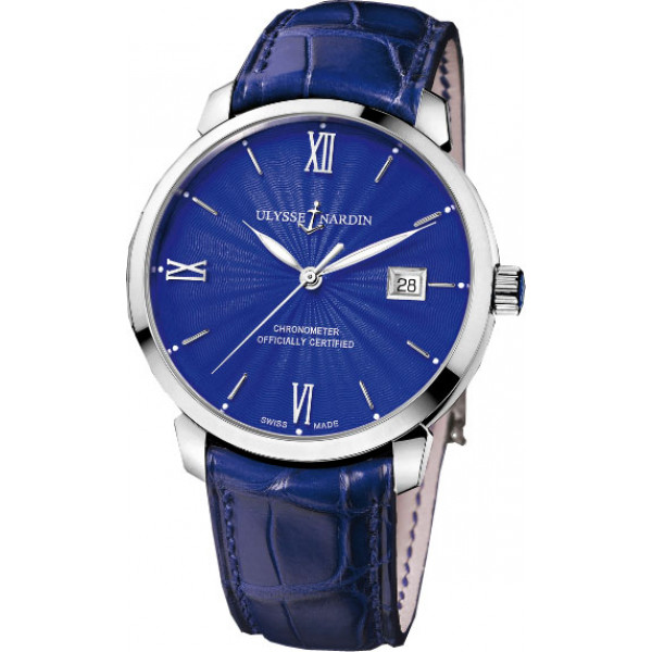 Ulysse Nardin watches Classico WG Blue Dial