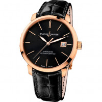 Ulysse Nardin watches Classico RG Black Dial