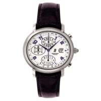 Audemars Piguet watches Millenary Chronograph (Steel / Silver / Leather)