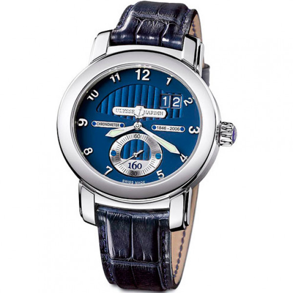 Ulysse Nardin watches Anniversary 160 (WG / Blue / Leather)