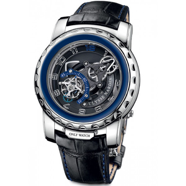 Ulysse Nardin watches Freak Diavolo for ONLY WATCH 2011