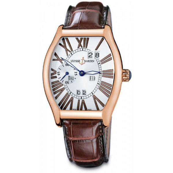 Ulysse Nardin watches Ludovico Perpetual (RG / Silver / Leather)