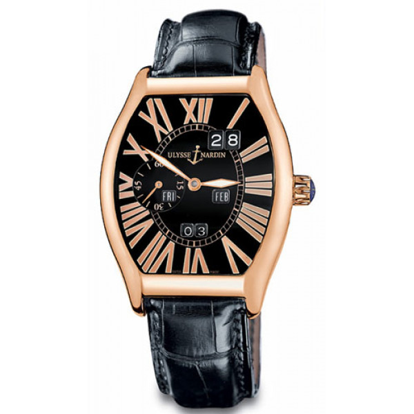 Ulysse Nardin watches Ludovico Perpetual (RG / Black / Leather)