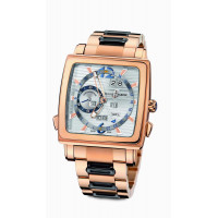 Ulysse Nardin watches Quadrato Dual Time Perpetual RG