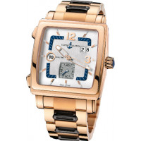 Ulysse Nardin watches Quadrato Dual Time RG