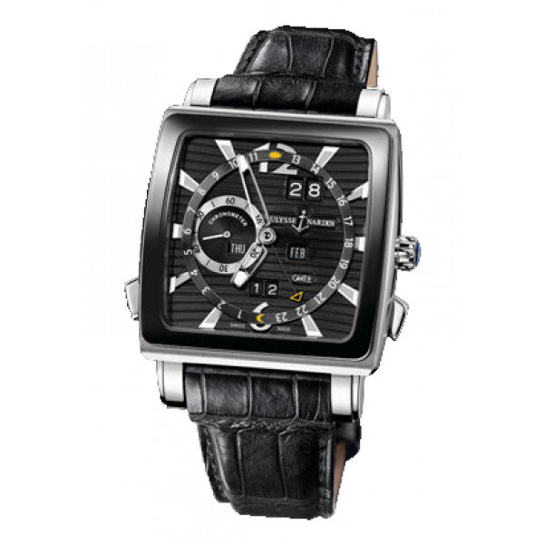 Ulysse Nardin watches Quadrato Dual Time Perpetual