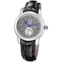 Ulysse Nardin watches Ulysse 1 (Platinum / Grey / Leather)