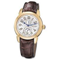 Ulysse Nardin watches Ulysse 1 (18kt RG / Silver / Leather / Limited)