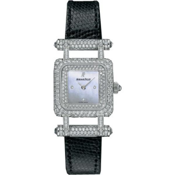 Audemars Piguet watches Deva (WG-Full Diamonds / MOP / Leather)