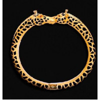 Браслет Carrera y Carrera Animales 18K Yellow Gold Diamond Bracelet