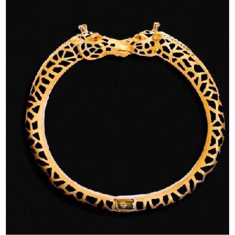 Браслет Carrera y Carrera Animales 18K Yellow Gold Diamond Bracelet
