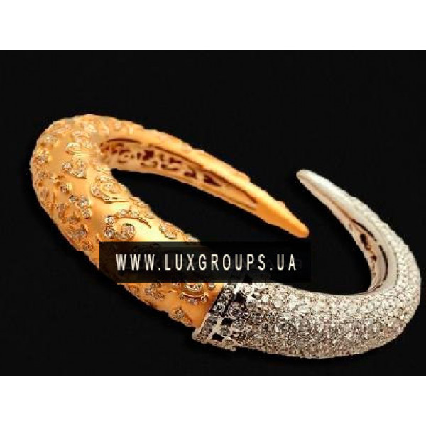 Браслет Carrera y Carrera AVA 18K Yellow and White Gold Bracelet with Diamonds