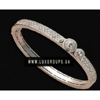 Браслет Carrera y Carrera Pasodable 18K White Gold Bracelet with Diamonds