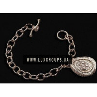 Браслет Carrera y Carrera Ruedo 18K White Gold Bracelet with Diamonds