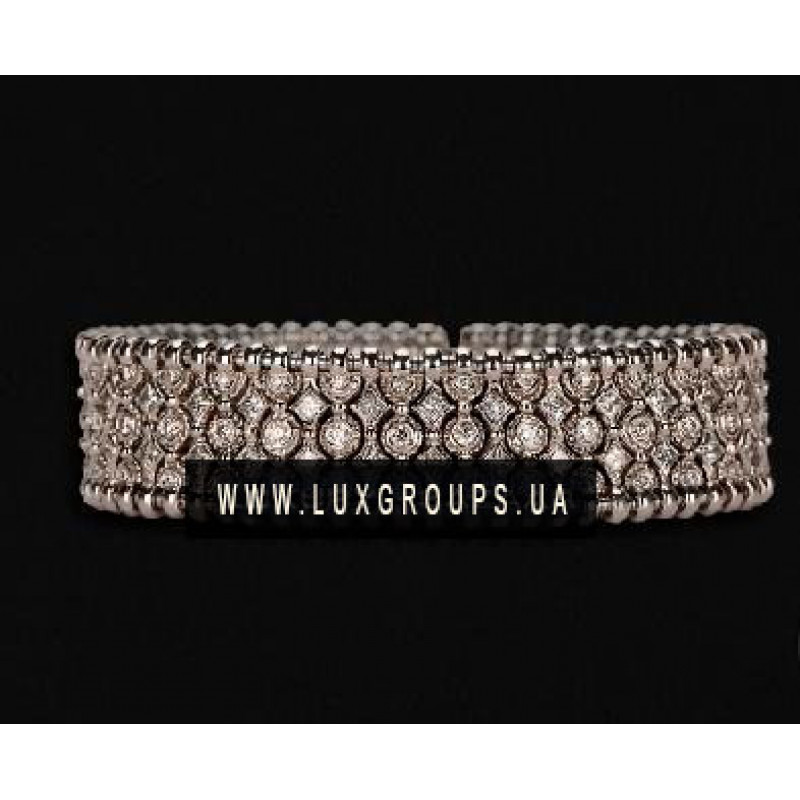 Браслет Carrera y Carrera Mosaico 18K White Gold Bracelet with Diamonds