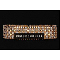 Браслет Carrera y Carrera Mosaico 18K Yellow and White Gold Bracelet with Diamonds