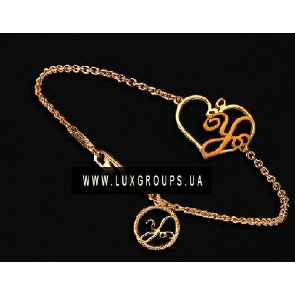 Браслет Carrera y Carrera Y 18K Yellow Gold Heart Bracelet