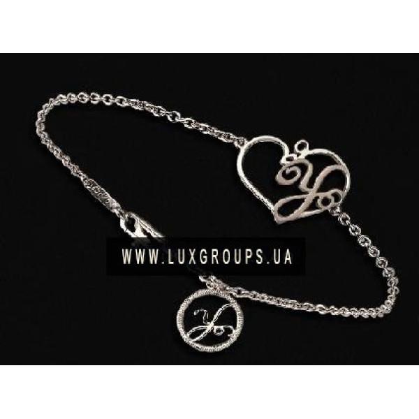 Браслет Carrera y Carrera Y 18K White Gold Heart Bracelet