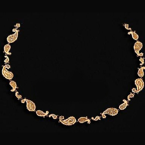 Колье Carrera y Carrera Aqua 18K Yellow Gold Necklace