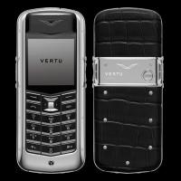 Vertu Constellation Alligator Black
