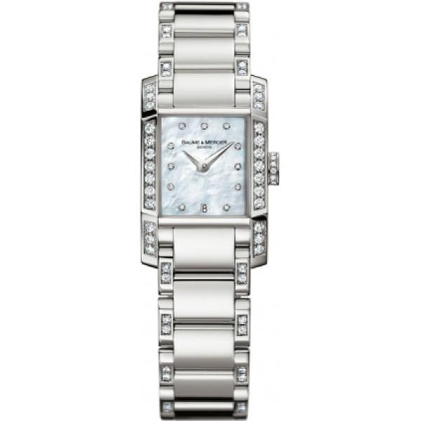 Baume & Mercier watches Diamant Steel/Diamonds