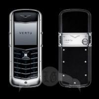 Vertu Constellation Сталь, керамика, чёрная кожа