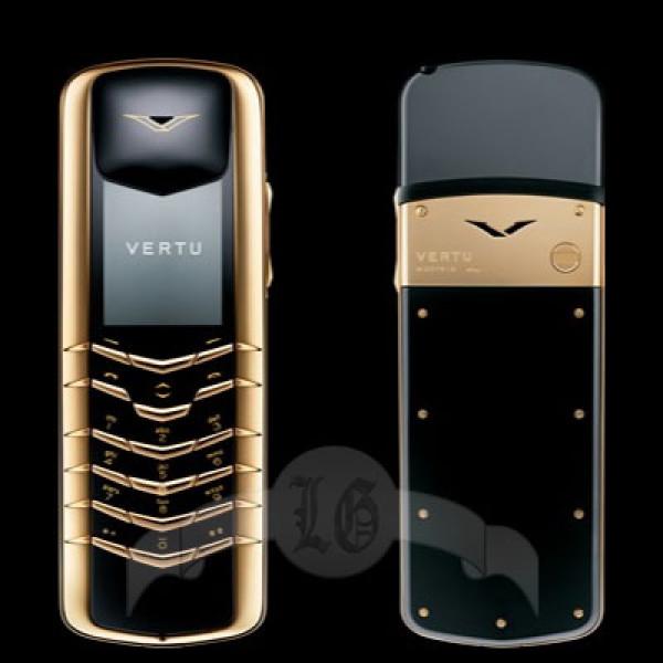 Vertu Signature 18-каратное жёлтое золото