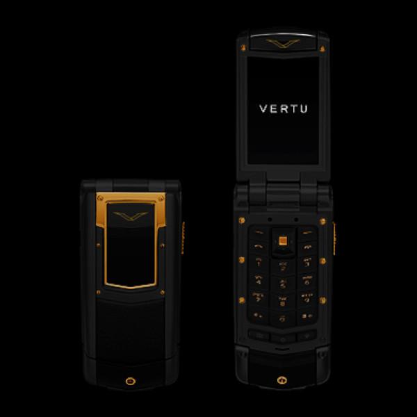 Vertu Ayxta Black Red Gold Mixed Metals