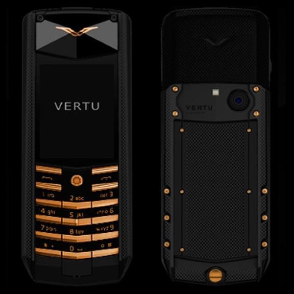 Vertu Ascent X Black Knurl Red Gold Mixed Metals