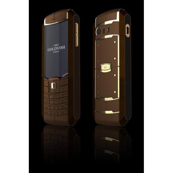 GoldVish Equilibrium - Chocolate Gold Brown