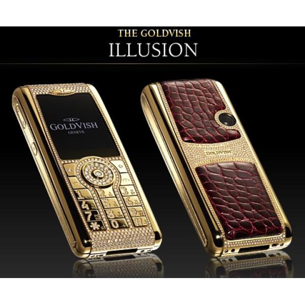 GoldVish Illusion Beyond Dreams Yellow gold