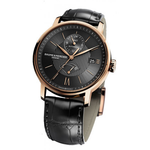 Baume & Mercier watches Classima Dual Time-Zone & Power Reserve