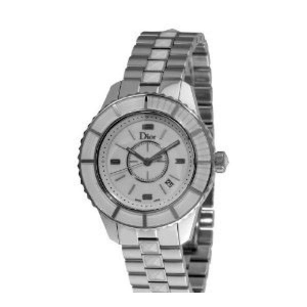 Christal Diamond White Dial