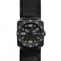 Bell & Ross watches BR03 INSTRUMENT TYPE AVIATION (carbon with satin)