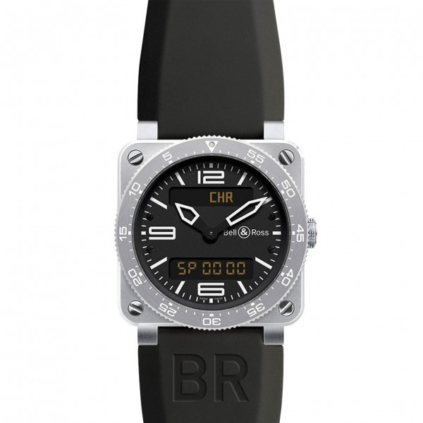 Bell & Ross watches BR 03 Type Aviation Steel