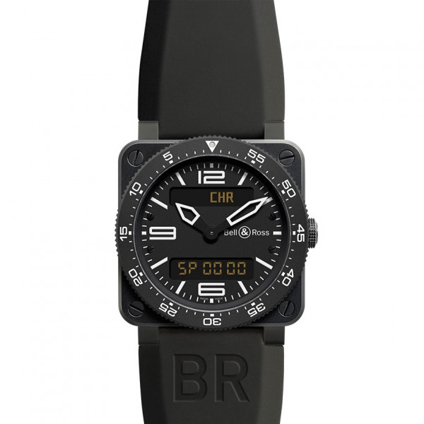 Bell & Ross watches BR 03 Type Aviation Carbon Finish