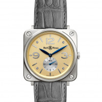 Bell & Ross watches BR-S GOLD IVORY DIAL