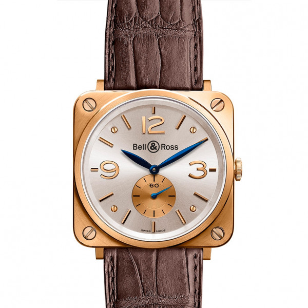 Bell & Ross watches BR-S GOLD SILVER DIAL
