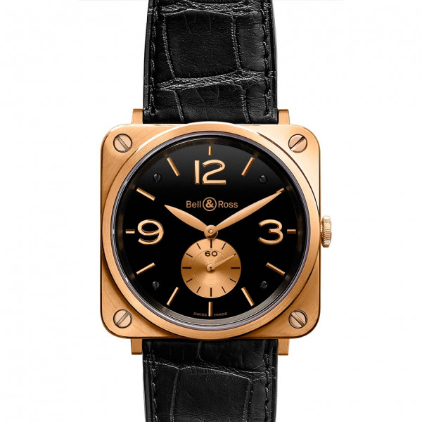Bell & Ross watches BR-S GOLD BLACK DIAL