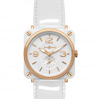 Bell & Ross watches BR-S CERAMIC WHITE DIAL & GOLD