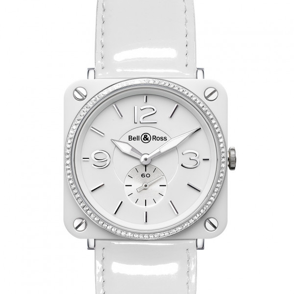 Bell & Ross watches BR-S CERAMIC WHITE DIAL & DIAMONDS