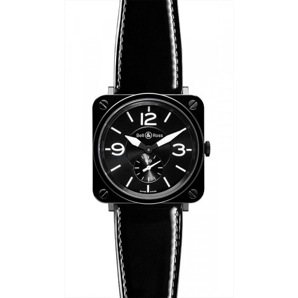 Bell & Ross watches BR-S CERAMIC BLACK DIAL & DIAMOND